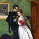 The Black Brunswicker by John Everett Millais 1860