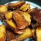 fried bread pieces