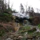 Series of natural Hot Springs near Bathhouse Row, Hot Springs National Park, Hot Springs, Arkansas.