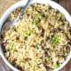 Jamaican rice with pigeon peas