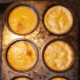 Bake at 350 degrees for 40 to 45 minutes. Test to see if custard is done by inserting a knife into the center of each cup. If it comes out clean, the custard is done. If not, continue baking in 5 minute increments until the knife comes out clean.