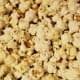 Glass gems popped popcorn