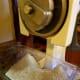 Flour ground from Hopi blue corn