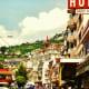 Street scene in Montreux
