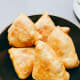 Serve warm samosas with your favorite Indian food or you can just enjoy them right away!