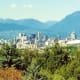 View of Vancouver from the park