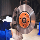 It releases & reapply or 'pump' brakes to wheels in heavy braking situations. When a lock-up is detected, ABS pumps the brakes, 100's of times a second. This stops the wheel or wheels from skidding & helps keep the driver in control of the vehicle.