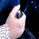Resting your hand on the gear stick while driving a manual transmission vehicle (1)