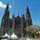 Impressive facade of Iglesia de San Juan Bautista, Arucas.