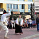 Staged combat, Playa de las Canteras.