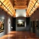 Art gallery in Museo Casa de Colon, Las Palmas.
