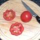 Star cut tomato