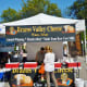 Brazos Valley Cheese Booth at this farmers market