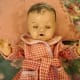 My mother's doll Annette with eyes half-closed