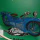 The innovative Majestic motorcycle was produced in France in the interwar period (1929-1930)