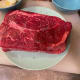 A chuck roast has a decent amount of fat. This cut of meat benefits from a long cooking process at a relatively low temperature.