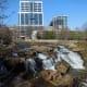 Reedy River Falls in Greenville, SC.
