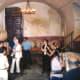 Touring the cellar