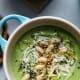 Creamy White Bean, Broccoli, and Tahini Soup
