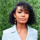 Yara Shahidi: Curly bob with bangs that's just below the chin.