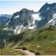 Cascade Pass in North Cascades National Park