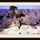 I created a stone lithograph using this picture I took at the Grand Canyon as my subject matter.