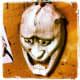 Hannya mask artwork.