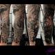Oriental theme tattoo