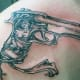 Gun Tattoo Idea