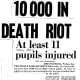 """Headline in the afternoon newspaper """"The Daily News"""" on 16 June 1976."""