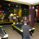 Pool Tables located in the game room at Austin's Park and Pizza Pflugerville TX