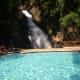 Adult swimming pool at Tiklas Waterfalls