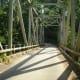Balanti-an Bridge in Barangay Lawit. It´s before the main entrance of Tiklas Waterfalls.