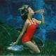 Underwater Mermaids at Weeki Wachee Springs (old postcard photo) ~ See today's mermaids there!