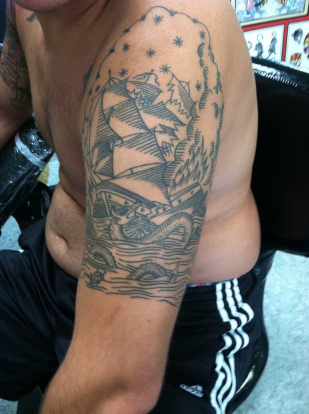 Sleeve getting tattoo half a Should I