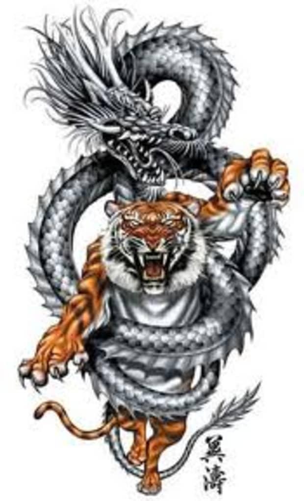 Meaning dragon tribal tattoo Dragon Tattoos