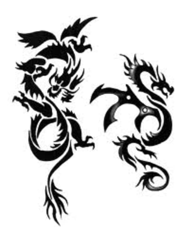 Tribal tattoo meaning dragon 80+ Tribal