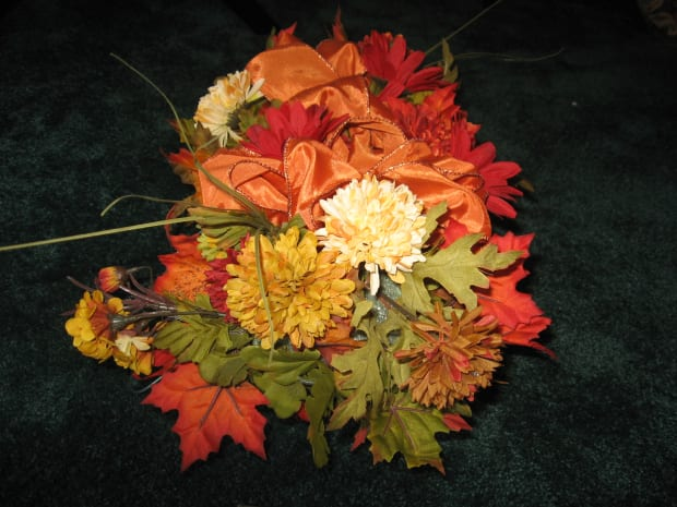 How To Make A Gravestone Flower Arrangement The Saddle Hubpages