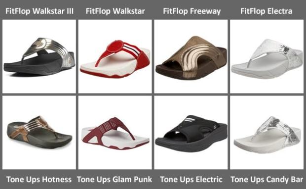 Porque Importancia entregar  Skechers Tone Ups Sandals and FitFlop Sandals go Head to Head | HubPages