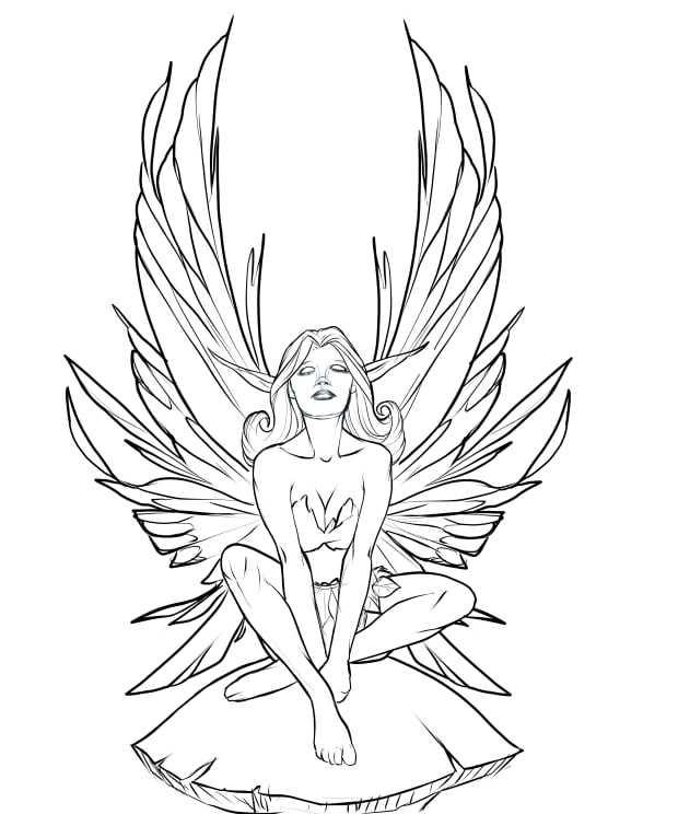 - Fantasy Art Coloring Pages: 12 Free Printable Coloring Pages For Kids,  Teens, And Adults - HubPages
