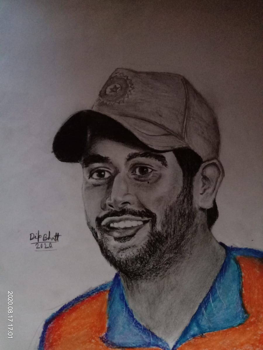 The Main Secret of Drawing a Portrait in Pencil.(an Indian Student's Art.)