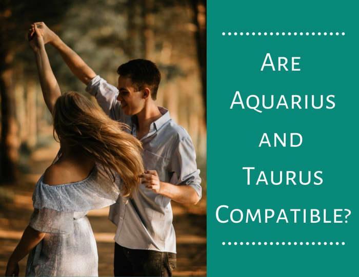 Why Taurus and Aquarius Click Romantically - PairedLife