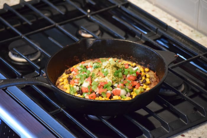 Fred and Melissa's Mexican Skillet Pizza: Vegan, No Soy ...