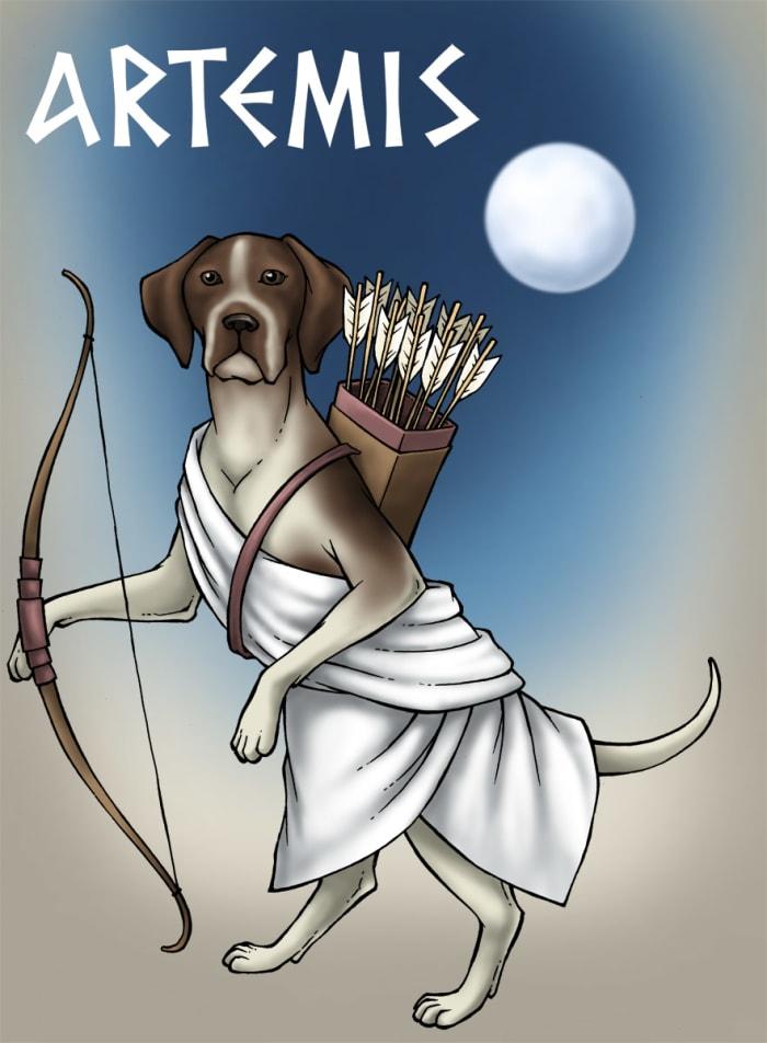 8 best greek: artemis images on Pinterest | Greek gods