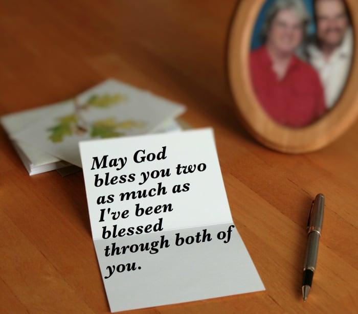 christian anniversary wishes and verses to write in a card