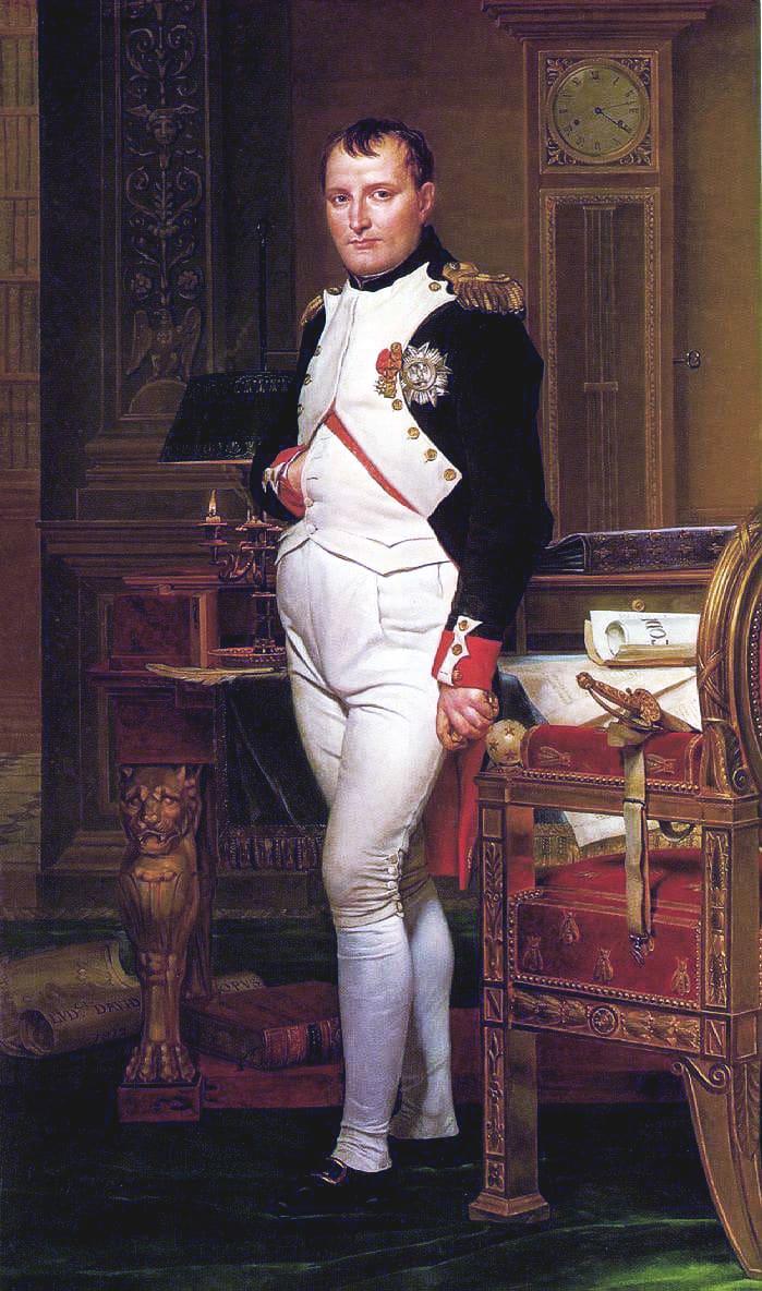 El complejo de Napoleón lleva el nombre de Napoleón Bonaparte, de quien se decía que era bajo.