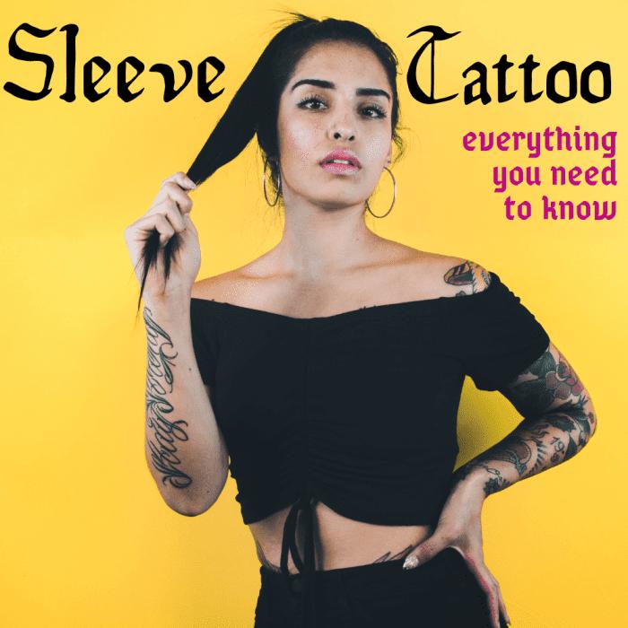 Découvrez tout ce que vous devez savoir avant de vous faire tatouer une manche.