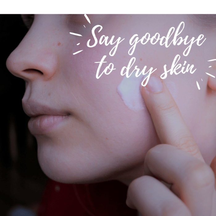 what to do for a dry face