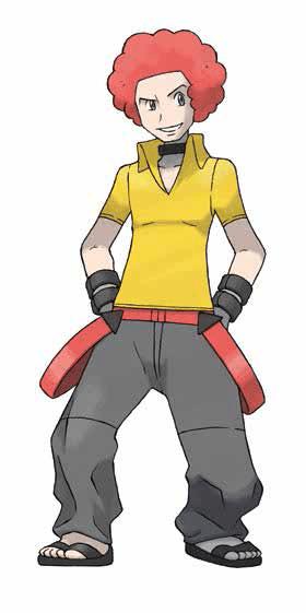 Feuer-Typ Pokemon-Benutzer