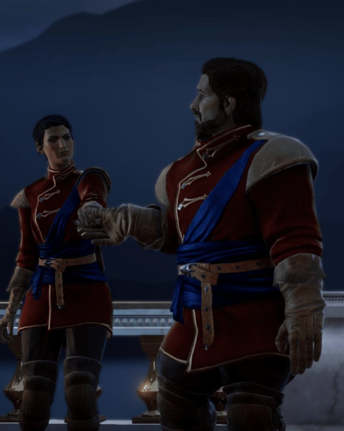 Dragon Age Inquisition - Seras Romance Quest (Nudity